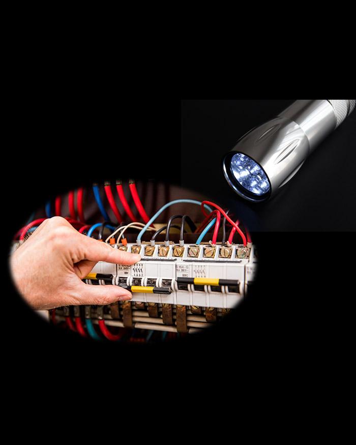 Ré-enclencher coffret électrique