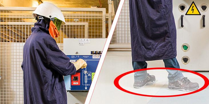 Moyens de protection pour déclenchement d'une cellule haute tension